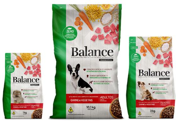 Balance apresenta novo sabor de ração,