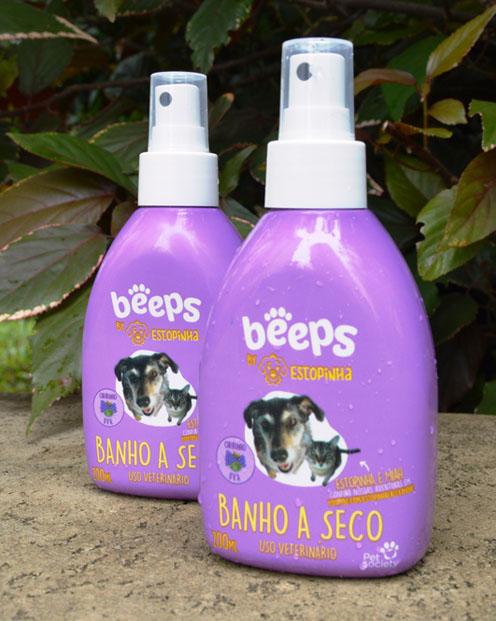 Linha Beeps by Estopinha ganha shampoo Banho a Seco