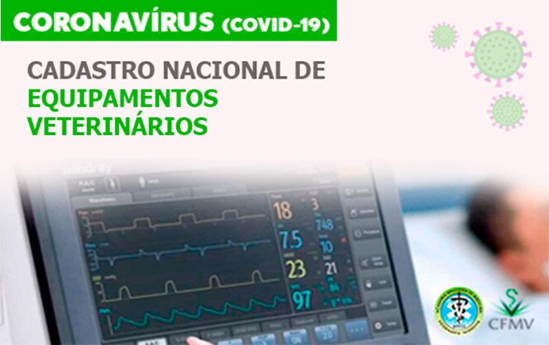 Coronavírus: cadastro de equipamentos veterinários será colocado à disposição dos órgãos de saúde