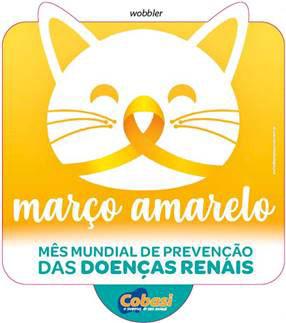 Cobasi realiza campanha para concientização de doenças renais em pets