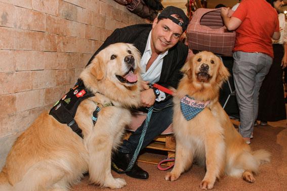 Daniel Boaventura reúne famosos em lançamento de coleção pet