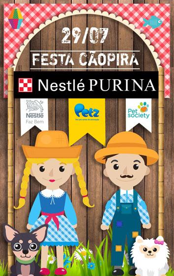 Purina promove Festa Julina pet friendly em São Paulo