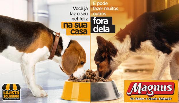 Lojista Solidário já alimentou mais de 40 mil animais