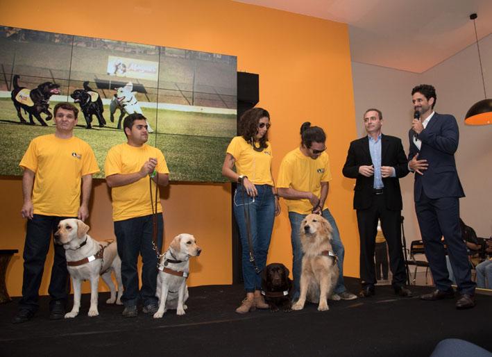 Magnus inaugura moderno Centro de treinamento de cães-guias