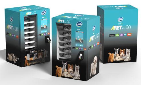 Shopping Prado Boulevard ganha máquina de petiscos para pets