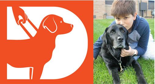 Presidente-mirim do Instituto IRIS ministra palestra sobre cães-guia