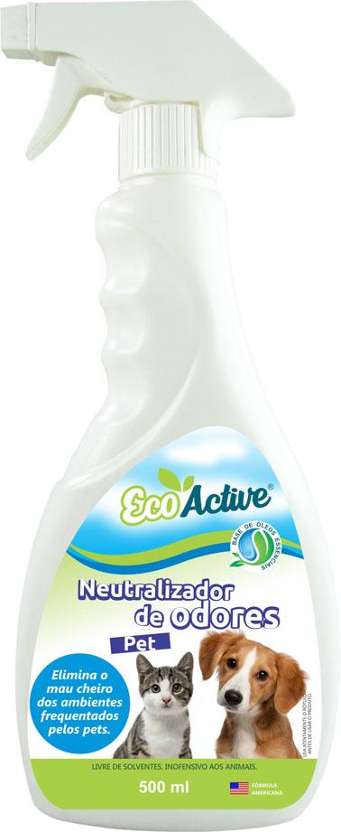 Chega ao mercado neutralizador de odores biosustentável para os pets