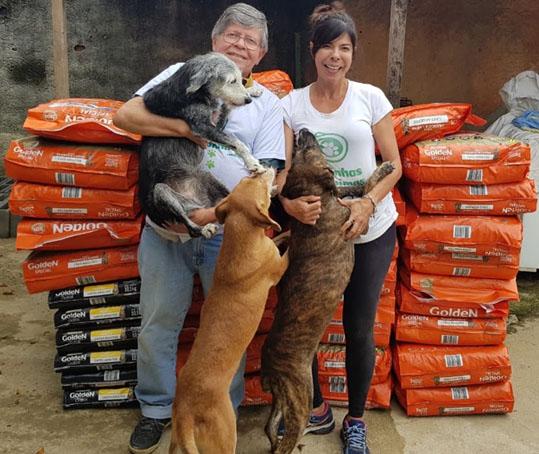 PremieRpet destina 25 toneladas de alimentos para ONGs