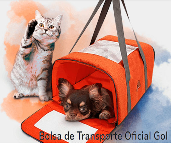 GOL fecha parceria com a Cobasi e disponibiliza produtos exclusivos para viagem de pets
