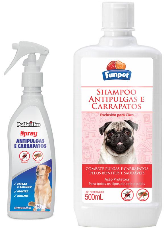 Interbrilho lança shampoo e spray contra pulgas e carrapatos