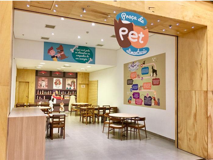Golden Square Shopping lança primeira Praça de Alimentação para pets no País