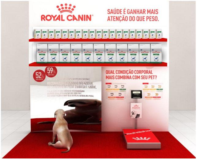 """Royal Canin promove """"Pop-ups"""" para falar de obesidade animal"""