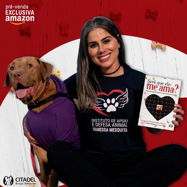 Vanessa Mesquita convida artistas e fãs a participarem de projeto social para a causa pet