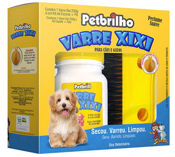 Varre Xixi ajuda na limpeza do xixi dos pets