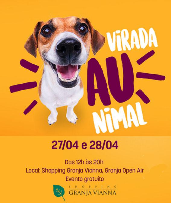 Shopping Granja Vianna promove a Virada Aunimal